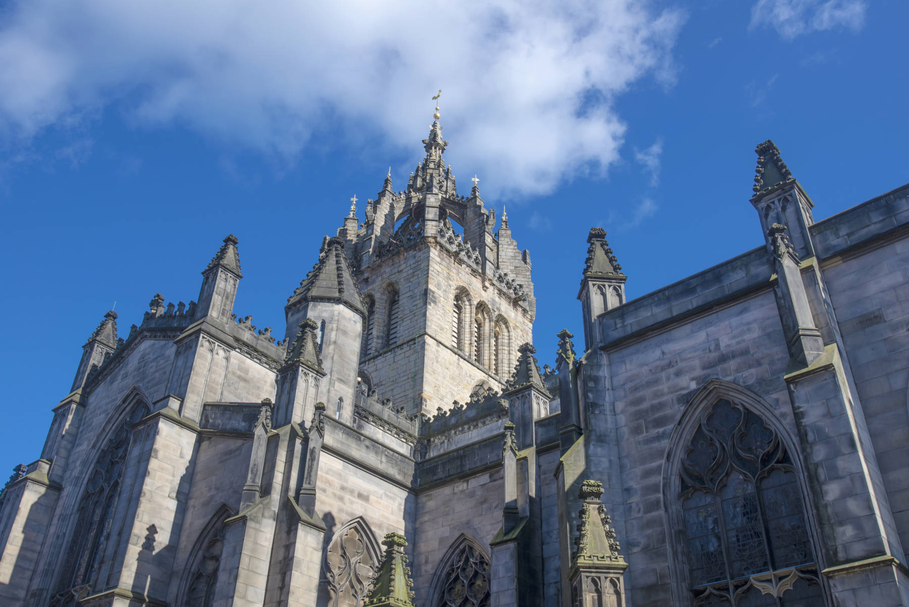 St Giles Cathedral on The Royal Mile, Edinburgh